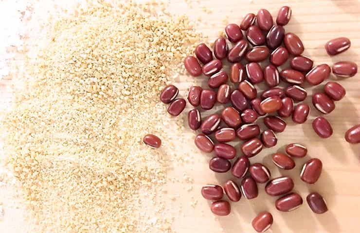 十勝産小豆と北海道産てんさい糖