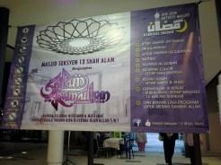 Program Karnival Ibadah di Masjid Naza.