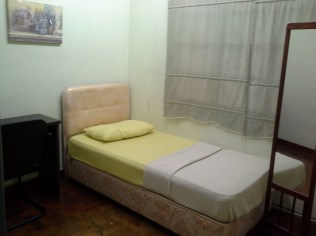 Room 3 - Single Bed @ 1st Floor - Aircond & Ceiling Fan
