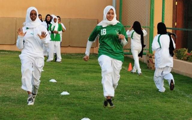 كرة القدم النسائية السعودية