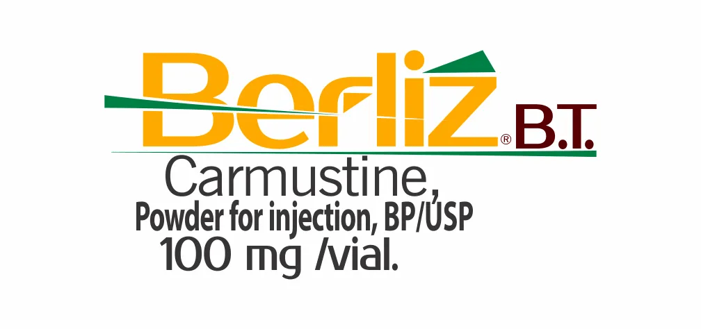 carmustine as a lyophilized powder in a single-dose