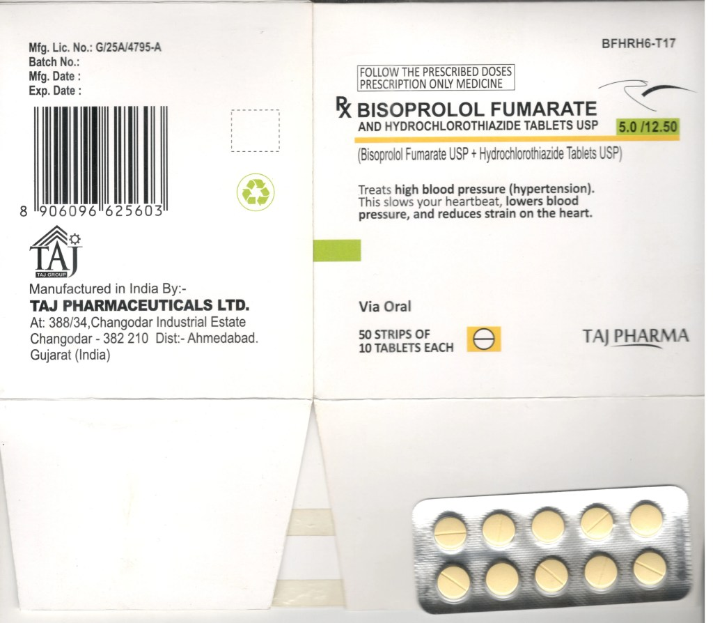 Bisoprolol Fumarate and Hydrochlorothiazide (Tablet, Film Coated)
