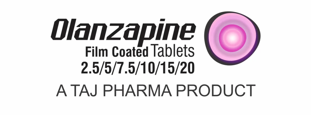 Olanzapine used to treat the symptoms of psychotic conditions such as schizophrenia and bipolar disorder