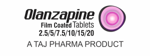 Olanzapine used to treat the symptoms of psychotic conditions such as schizophrenia and bipolar disorder Taj Pharmaceuticalscompany carries the rich experience in the niche manufacturing of Olanzapine Tablets USP 5mg. Taj Pharmaceuticals is reputed manufacturer and Olanzapine Tablets USP 5mg suppliers in India prefer Taj Pharmaceuticals due to the reliability and purity of products.Taj Pharmaceuticals, the well-known Olanzapine Tablets USP 5mg API manufacturer in India gives the assurance of high-quality and purity. Taj Pharmaceuticals manufactures a wide range of pharmaceuticals formulation involving Tablets / Capsules / Injections and Orals. Taj Pharma India teamhas an excellent expertise in manufacturing and export of Olanzapine Tablets. Taj Pharmaceuticals has performed these business activities related to exports of Olanzapine Tablets for major foreign-affiliated pharmaceutical import companies, ministry of health, tenders etc. and have enjoyed the full confidence of these companies, instructions and governments.