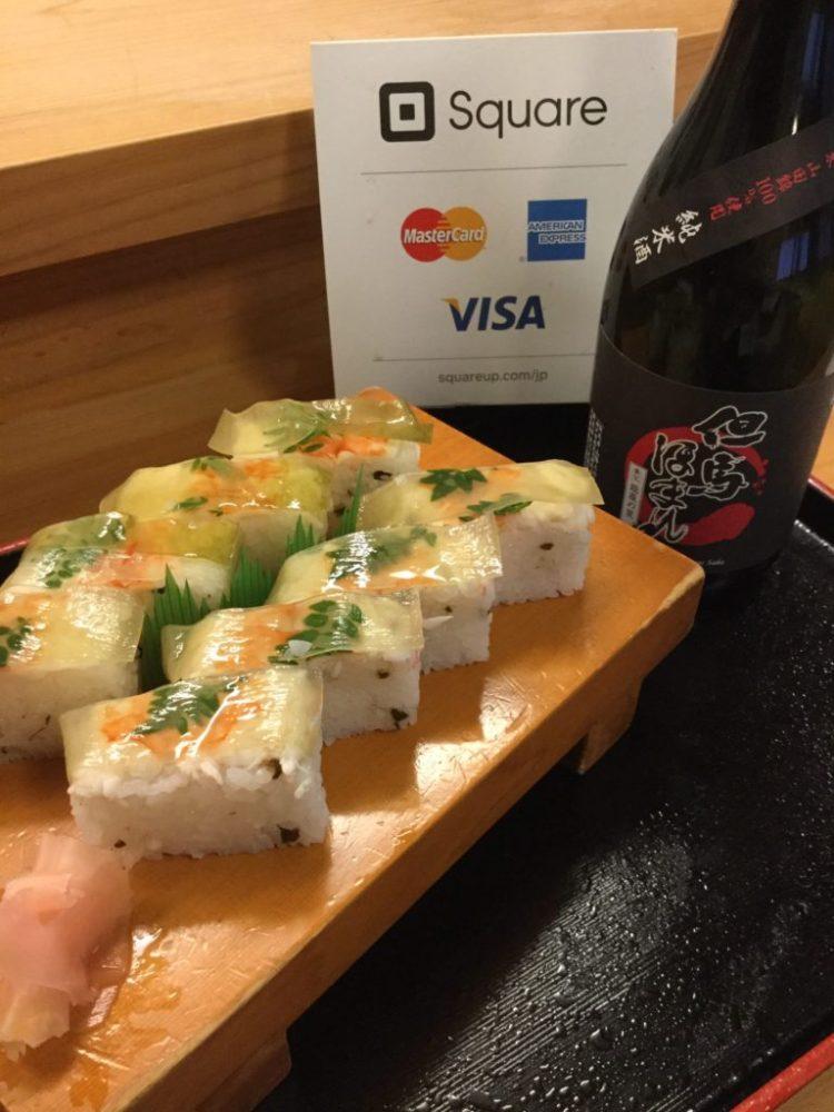 但馬ほまれと朝倉さんしょの箱寿司