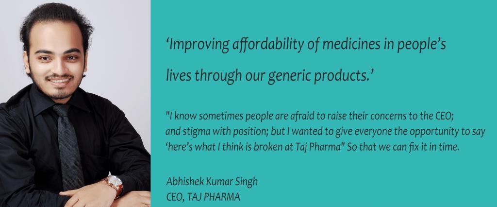 Abhishek Singh - Taj Pharma CEO | Taj Pharmaceuticals CEO | Taj Pharma Jobs | Taj Pharma Vacancy | Taj Pharma Review | Taj Pharma Director