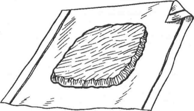 Glineni oblog za koljeno