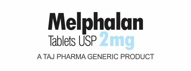 Melphalan Tablets USP 2mg, A TAJ PHARMA GENERIC PRODUCT, taj pharma