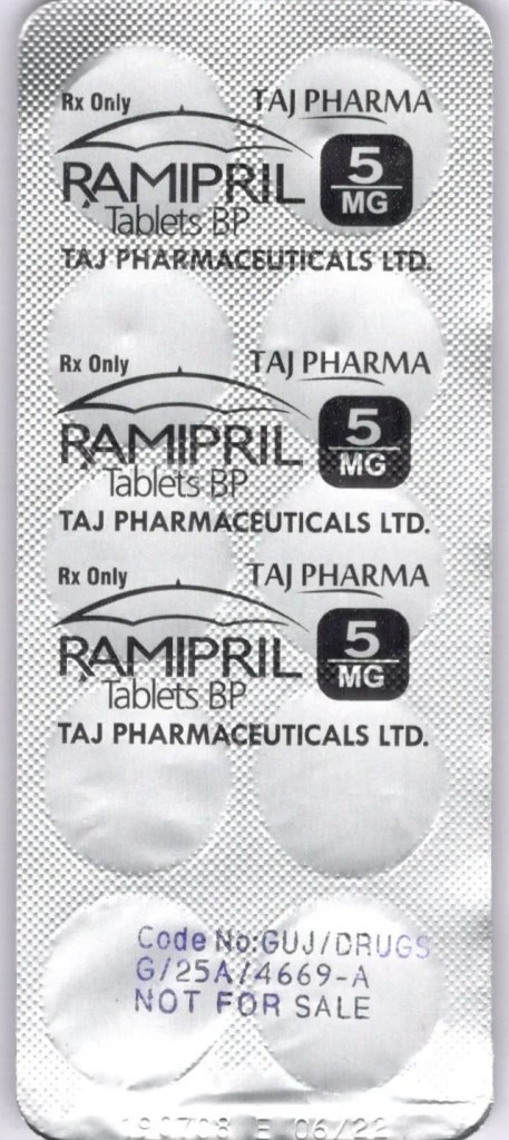 Ramipril 5mg Tablet - Uses, Side Effects, Substitutes Ramipril: Uses, Dosage, Side Effects & Warnings