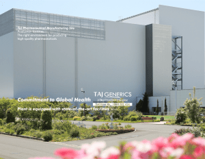 Taj Pharmaceuticals is leader in Cephalosporin dry powder injections; Taj Pharma India manufacture products in our state-of-the-art dedicated manufacturing facility. Taj Pharma has gained advantages on cost competitiveness, making us your ideal sourcing partner.
