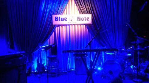Blue Note NYのステージ