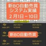 新BOキャッシュリッチ2収支報告02/12