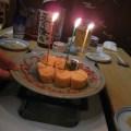 だし巻き玉子・誕生日ケーキ風(ちゃんこ上潮)