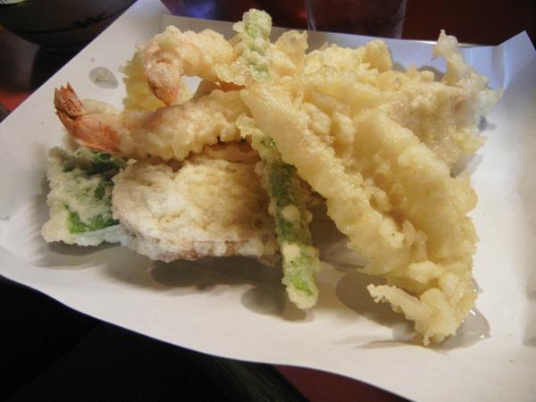 オメガ6で揚げた天ぷら
