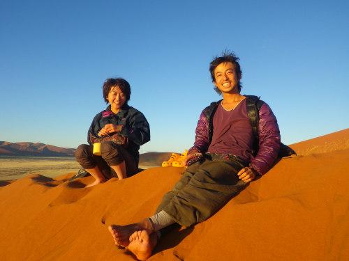 ナミビアナミブ砂漠3 (2)