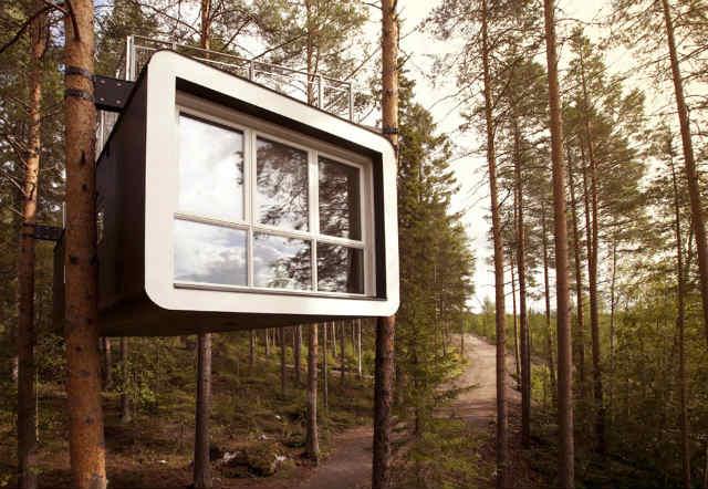 ツリーホテルtreehotel cabin (1)
