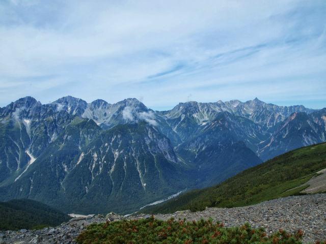 蝶ヶ岳日帰り登山記録 (20)