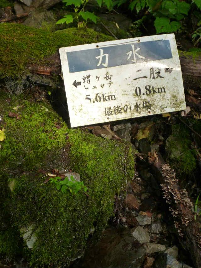 蝶ヶ岳日帰り登山記録 (5)