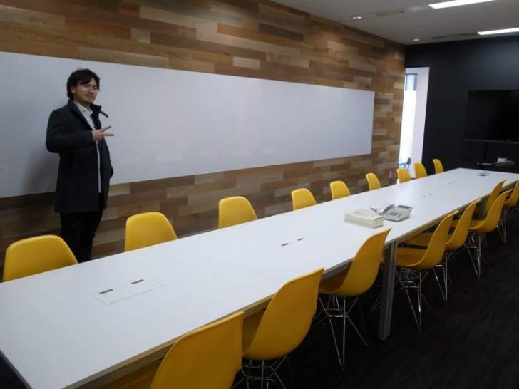高橋飛翔とヴォラーレ株式会社の五反田新オフィス見学 (6)