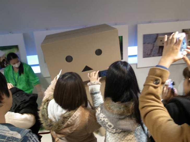 名古屋パルコで等身大着ぐるみダンボーを撮影[よつばとダンボー展2013] (9)