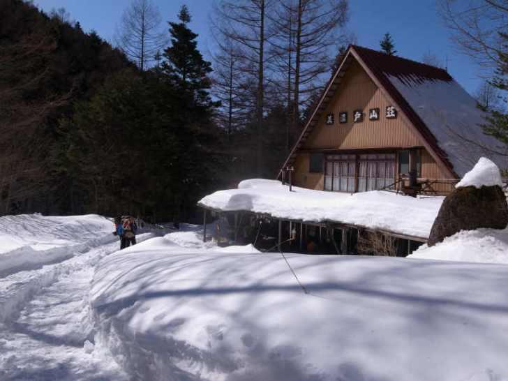厳冬期2月の冬山に初挑戦!八ヶ岳の頂点、赤岳を雪山登山(赤岳鉱泉テント泊ルート、コースタイム有) (37)