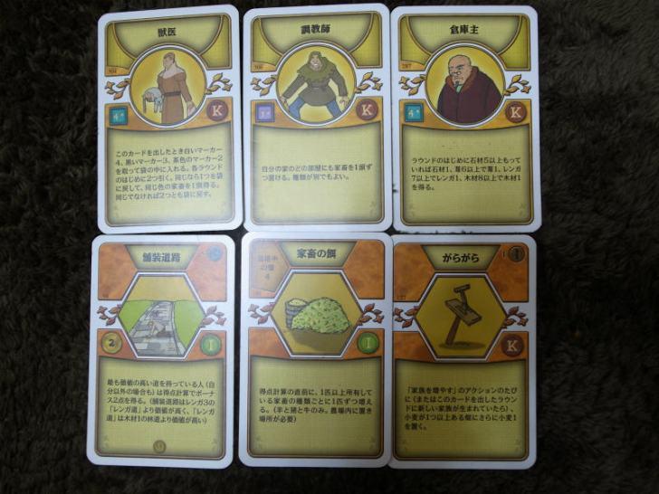 アグリコラの戦略とドラフト 戦記11:工場主のカードを見れば良かった・・・ (5)