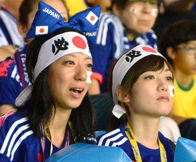 ブラジルW杯日本初戦のコートジボワール戦「日の丸はちまき大作戦」結果報告 (8)