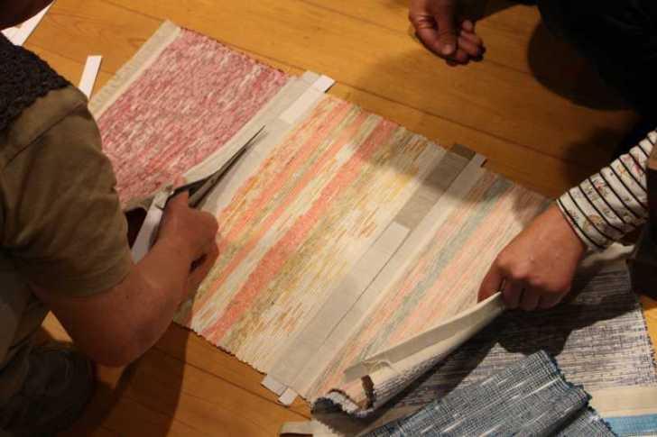 裂き織り体験教室で学ぶ「機織り機の仕組み」 (22)