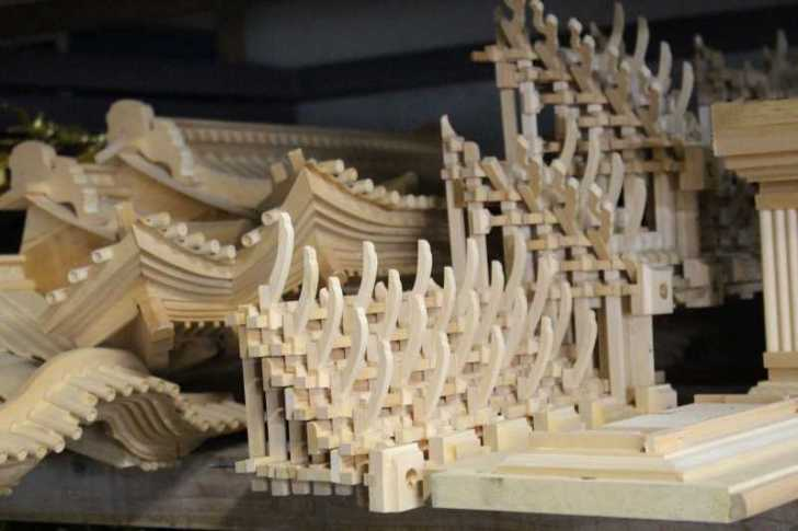 伝統工芸品に指定されている三河仏壇組合の工場を見学してきた[愛知県新城市作手] (13)