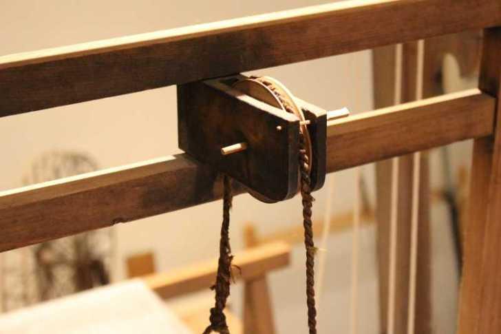 裂き織り体験教室で学ぶ「機織り機の仕組み」 (15)