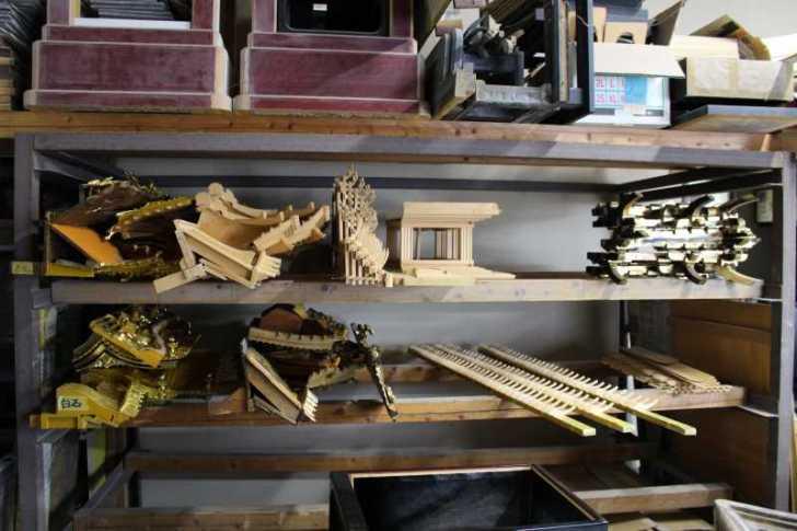 伝統工芸品に指定されている三河仏壇組合の工場を見学してきた[愛知県新城市作手] (9)