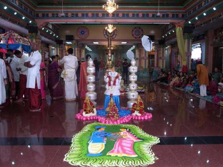 [マレーシア旅行記]8.クアラルンプールでヒンドゥー教の結婚式に参列 (2)