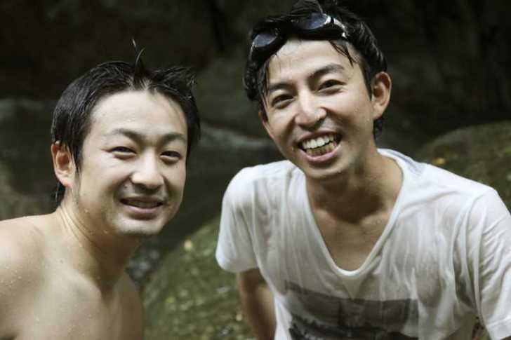 愛知県新城市作手の「保永の三滝」の滝つぼで泳いでみた![動画あり] (9)