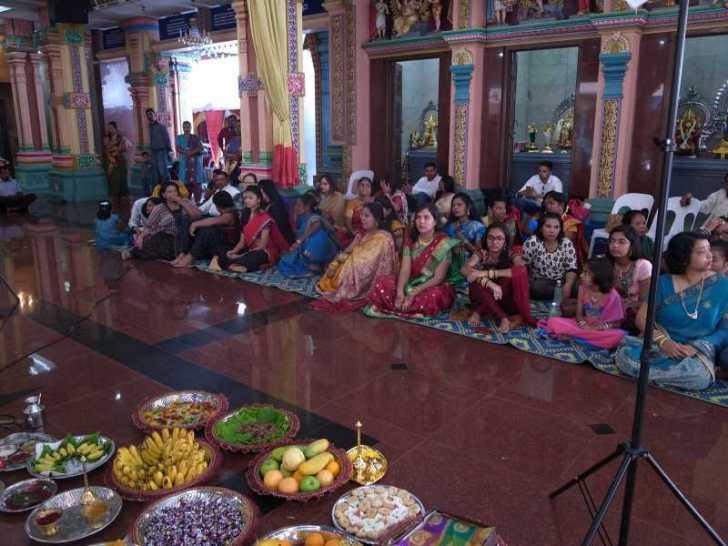 [マレーシア旅行記]8.クアラルンプールでヒンドゥー教の結婚式に参列 (5)