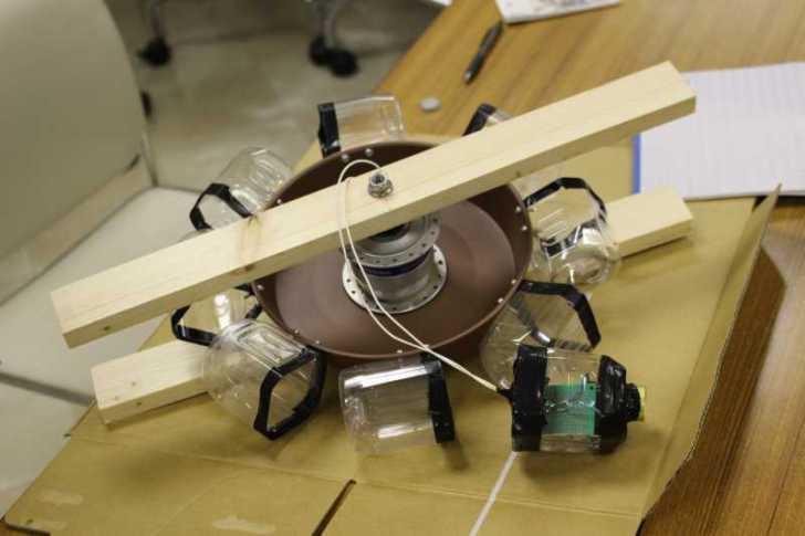 小水力発電をキットではなく身近なもので自作してみた (10)