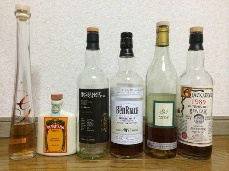 年代物の世界のレア酒を飲ませてもらい、蒸留酒の魅力を知る (4)