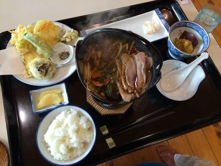 つくで田舎レストランすがもりで冬季限定の自然薯定食と猪鍋定食を食べてきたよ (9)