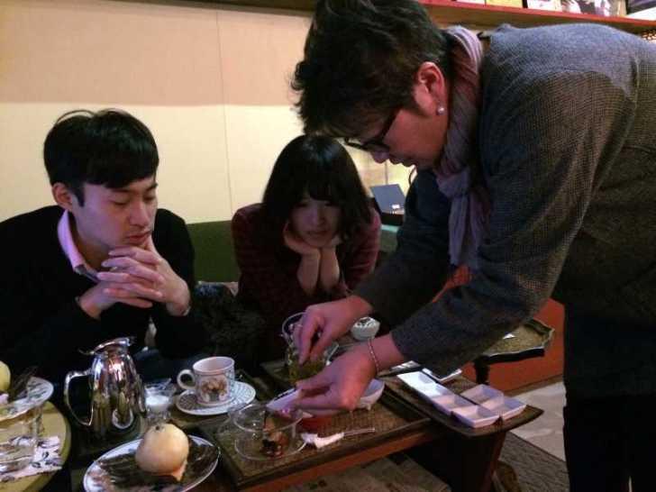 maruya(まるや)コーヒー、季節のタルト、ほうじ茶プリン、八宝茶 (8)