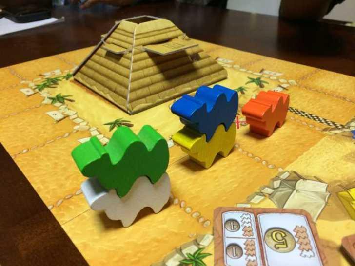 コンポーネントにテンションあがりまくりのボードゲーム「キャメルアップ」 (3)