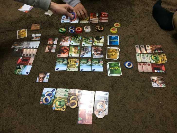 短時間(30分以下)で遊べる面白いボードゲーム「宝石の煌き」 (1)