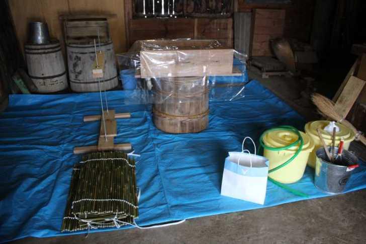手作り醤油搾りのお手伝いをしてみた。搾りたて生醤油がおいしすぎてやばい! (3)