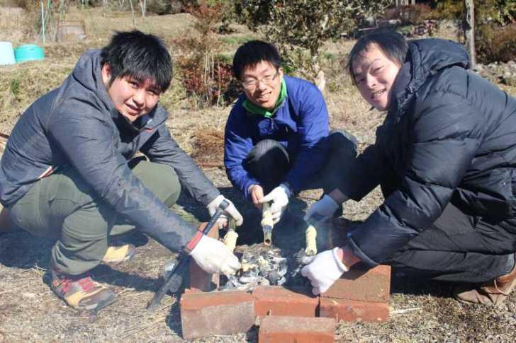 炭火手作りバームクーヘンをリベンジ!ついでに鹿肉も猪肉も喰ったった!! (10)