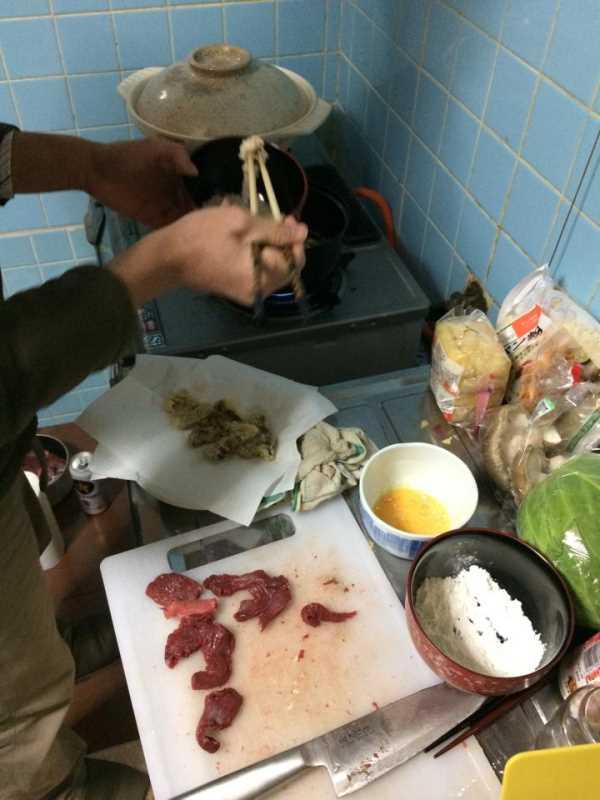 炭火手作りバームクーヘンをリベンジ!ついでに鹿肉も猪肉も喰ったった!! (5)