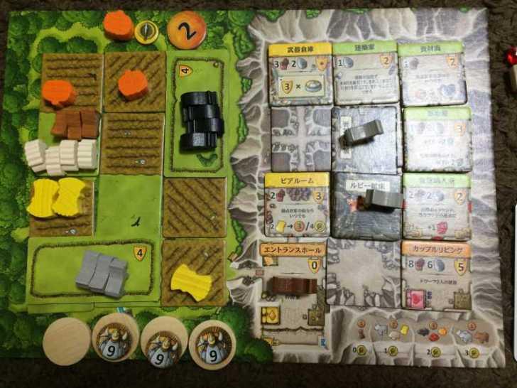 アグリコラより面白いと噂のボードゲーム「カヴェルナ 洞窟の農夫たち」をプレイしてきたよ【レビュー】 (5)