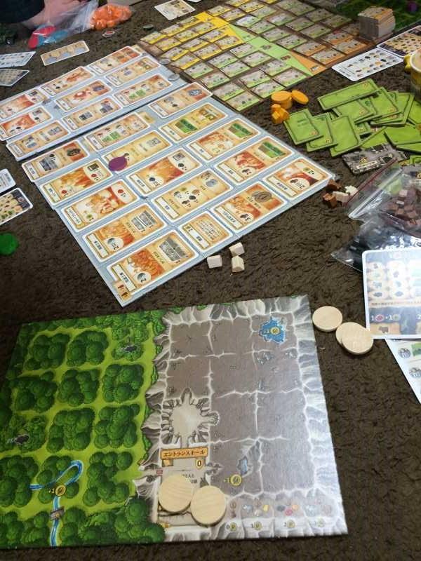 アグリコラより面白いと噂のボードゲーム「カヴェルナ 洞窟の農夫たち」をプレイしてきたよ【レビュー】 (1)