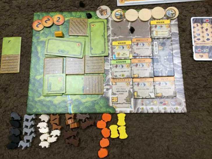 アグリコラより面白いと噂のボードゲーム「カヴェルナ 洞窟の農夫たち」をプレイしてきたよ【レビュー】 (7)