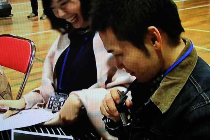 協和小での廃校脱出ゲーム企画がテレビ放送されたよ! (7)