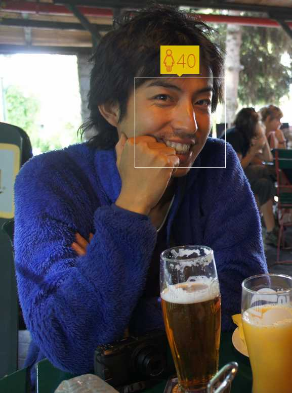 イケメンと話題だった奇跡の顔写真で年齢診断をしてもらった結果・・・ (3)