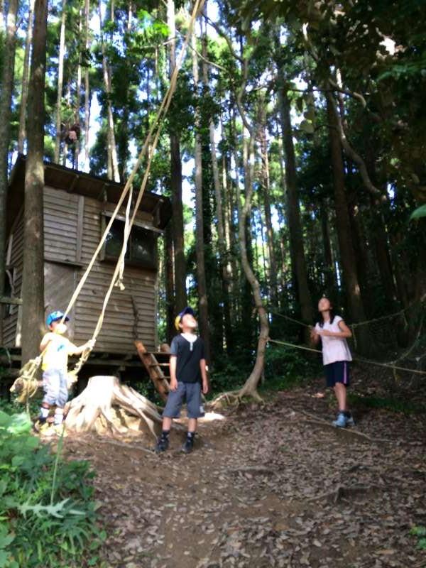 【ツリーハウスの作り方】ガンコ山の講習でセルフビルドしてきたよ! (4)