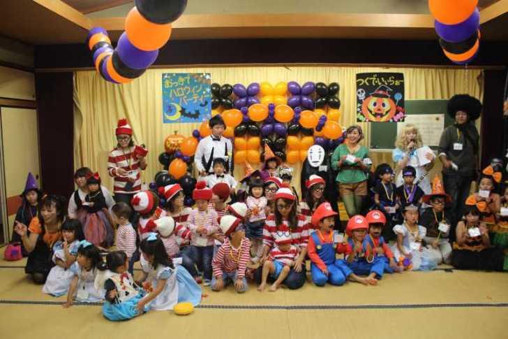 お寺でのハロウィンパーティー開催!仮装しての謎解きが色とりどりで楽しすぎる! (12)